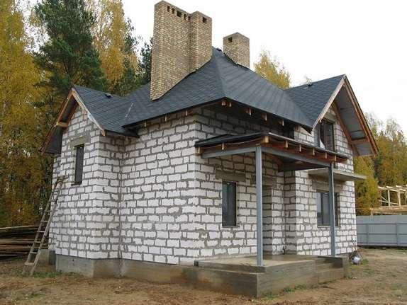 Дома из пенобетона и газобетона