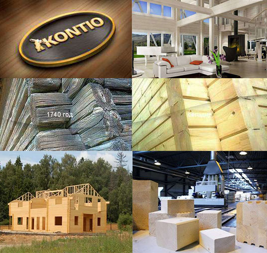 WOODEN HOUSES FROM ADHESIVES