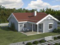 Проект дома «AKSBERG»